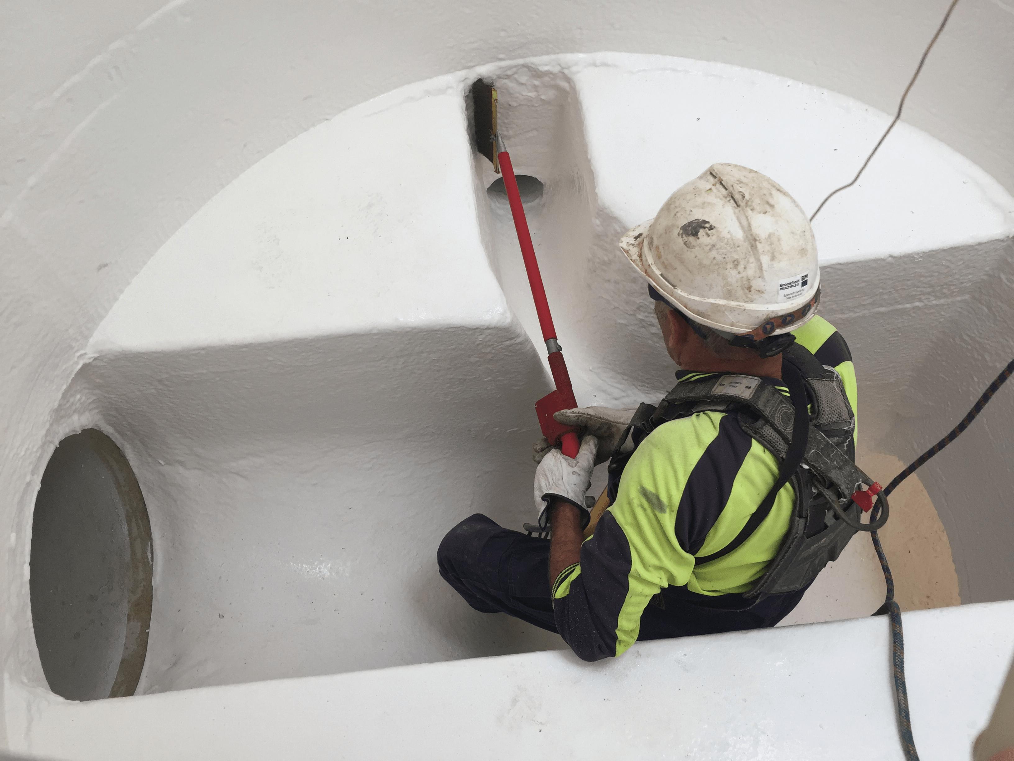 Concrete inspection services, concrete corrosion protection