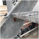 Galvanizing exposed to high corrosivity